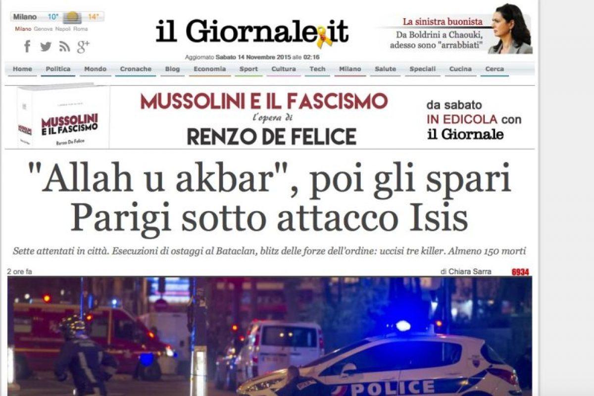 Il Giornale Foto:Reproducción. Imagen Por: