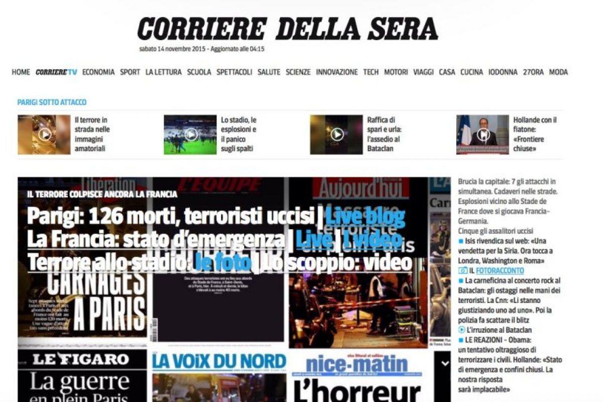 Corriere della Sera Foto:Reproducción. Imagen Por: