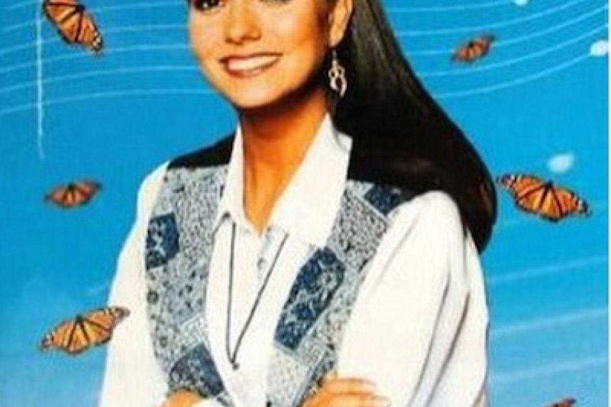"""En 1994 protagonizó la cinta """"Una maestra con ángel"""" Foto:www.gabyrivero.com. Imagen Por:"""