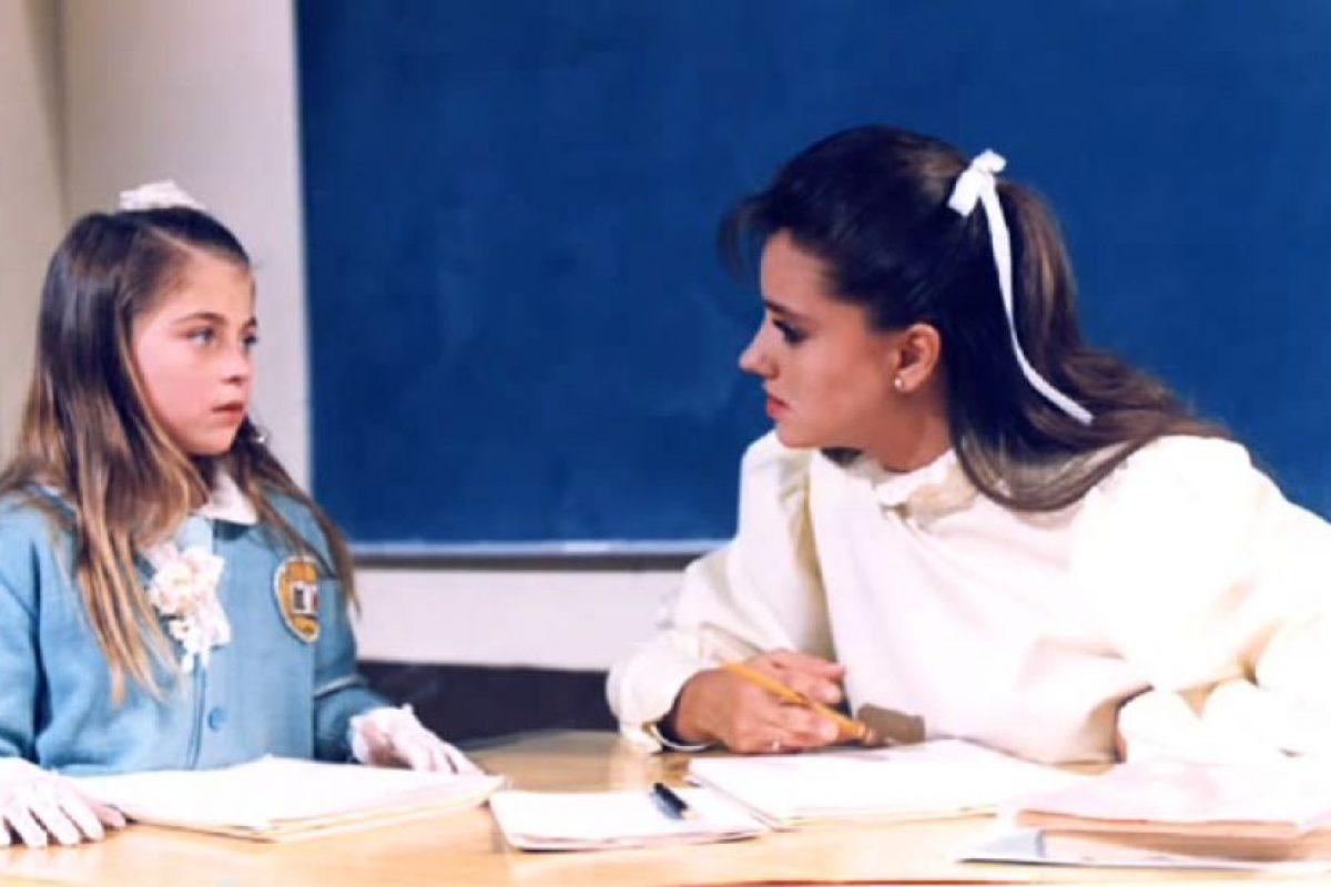 """Fue la conductora del programa """"El club de Gaby"""" en 1994. Foto:Televisa. Imagen Por:"""