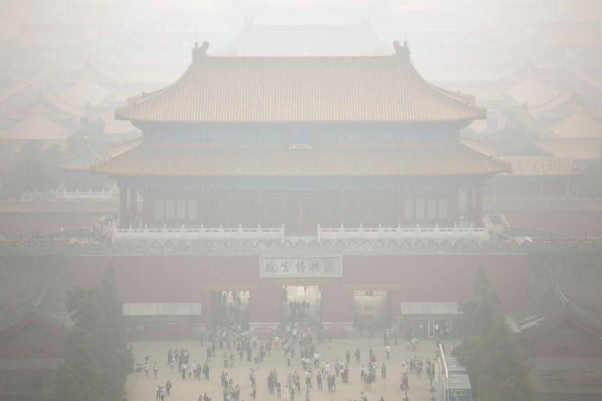 6. Cada año mueren en el mundo un millón 300 mil personas a causa de la contaminación urbana. Foto:AP. Imagen Por: