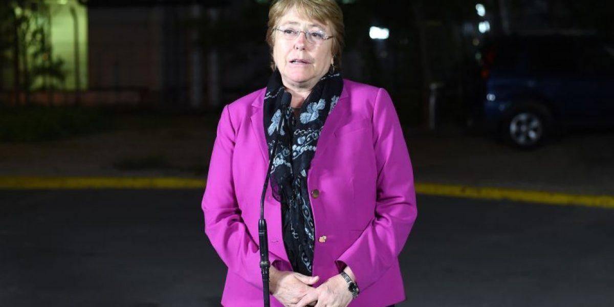 Bachelet viaja a Filipinas: se encontrará con Humala tras participar de ejercicio militar
