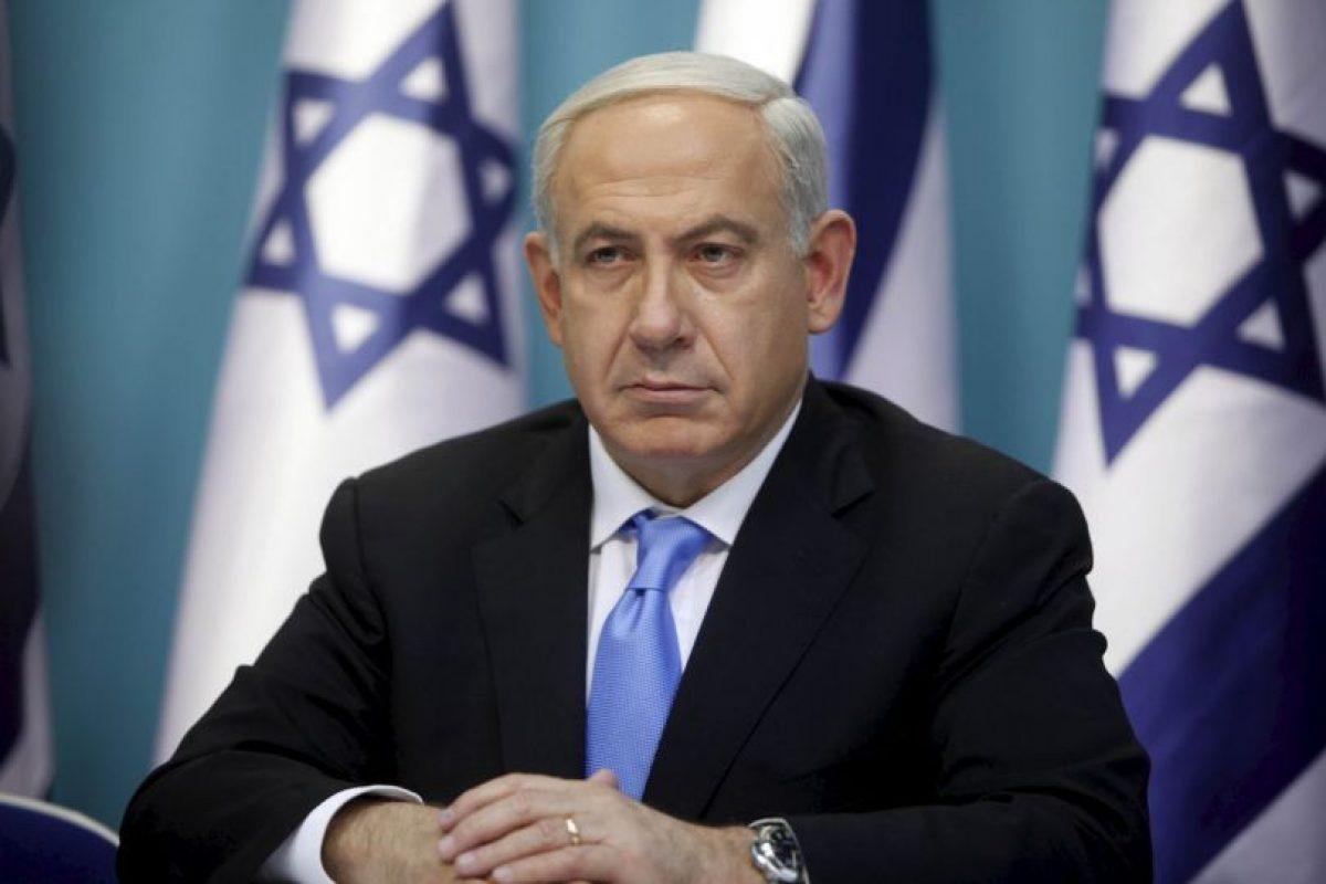 """""""Israel está codo con codo con el presidente francés, François Hollande y con el pueblo de Francia en la lucha contra el terrorismo"""". Foto:Getty Images. Imagen Por:"""