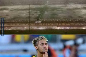 """Y enseguida, los internautas recordaron los """"piscinazos"""" de Neymar. Foto:memedeportes.com. Imagen Por:"""