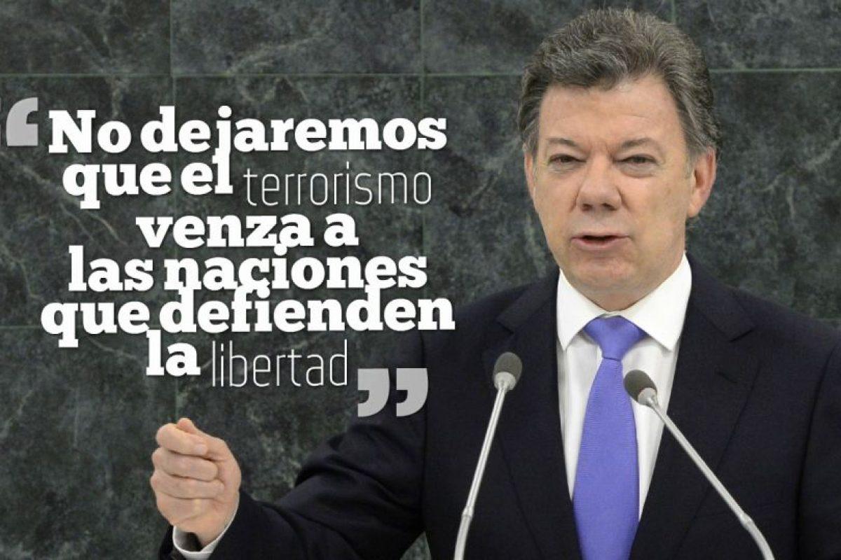 JUAN MANUEL SANTOS, Presidente de Colombia. Foto:Getty Images. Imagen Por: