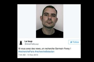 Con este los parisinos preguntan por sus seres queridos. Foto:vía Twitter. Imagen Por: