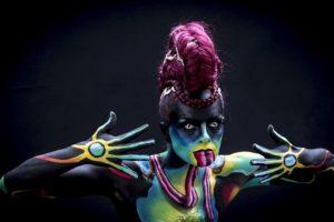 Festival Mundial de Bodypaint 2015 Foto:Getty Images. Imagen Por: