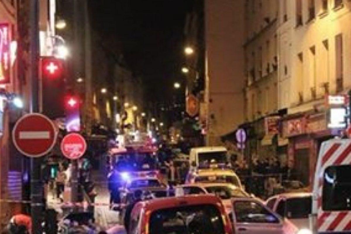 Aquí, una escena del tiroteo. Foto:vía Getty Images. Imagen Por: