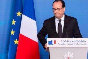 """El presidente de Francia, Francois Hollande, condenó estos hechos: """"Nuestra respuesta es la acción, prevención, disuasión y por lo tanto, la necesidad de aportar valores y no ceder al miedo. Nunca"""". Foto:AFP. Imagen Por:"""