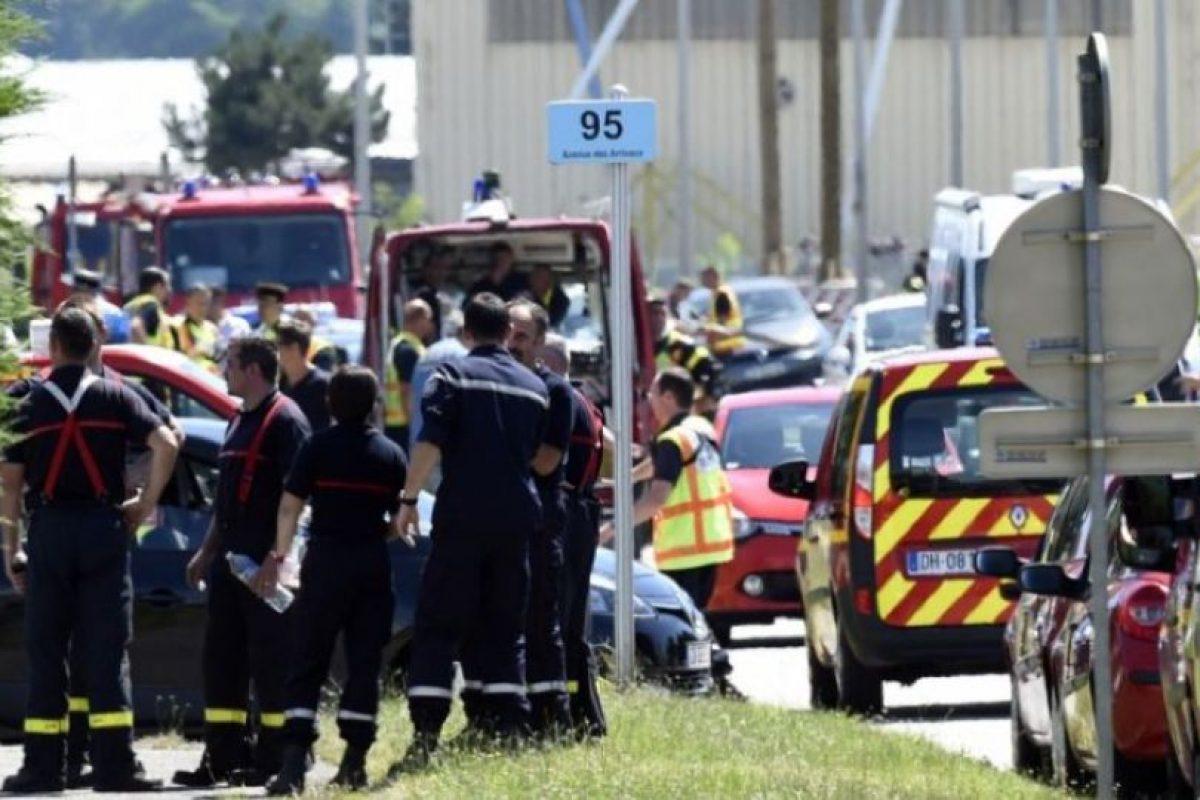 Los hechos también se dieron París. Foto:AFP. Imagen Por: