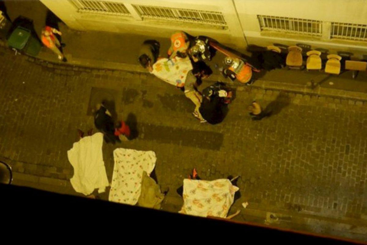 Las primeras víctimas Foto:vía Twitter. Imagen Por: