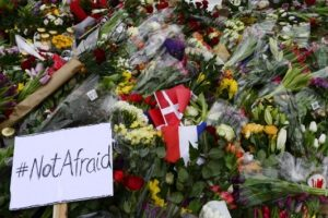 En dicho foro se iba a llevar a cabo un homenaje en honor a las víctimas de Charlie Hebdo. Foto:AFP. Imagen Por:
