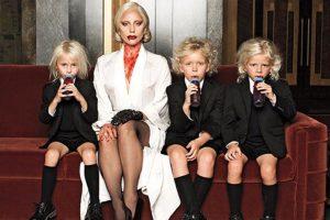"""Su papel es el de """"Elizabeth"""" Foto:vía instagram.com/ladygaga. Imagen Por:"""
