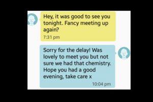 Él dijo que si se reunían. Ella le dijo que no tenían química. Foto:vía Tumblr. Imagen Por: