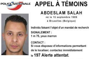 Hoy Francia y Bélgica anunciaron la orden de captura de Abdeslam Salah por los atentados terroristas. Foto:AP. Imagen Por: