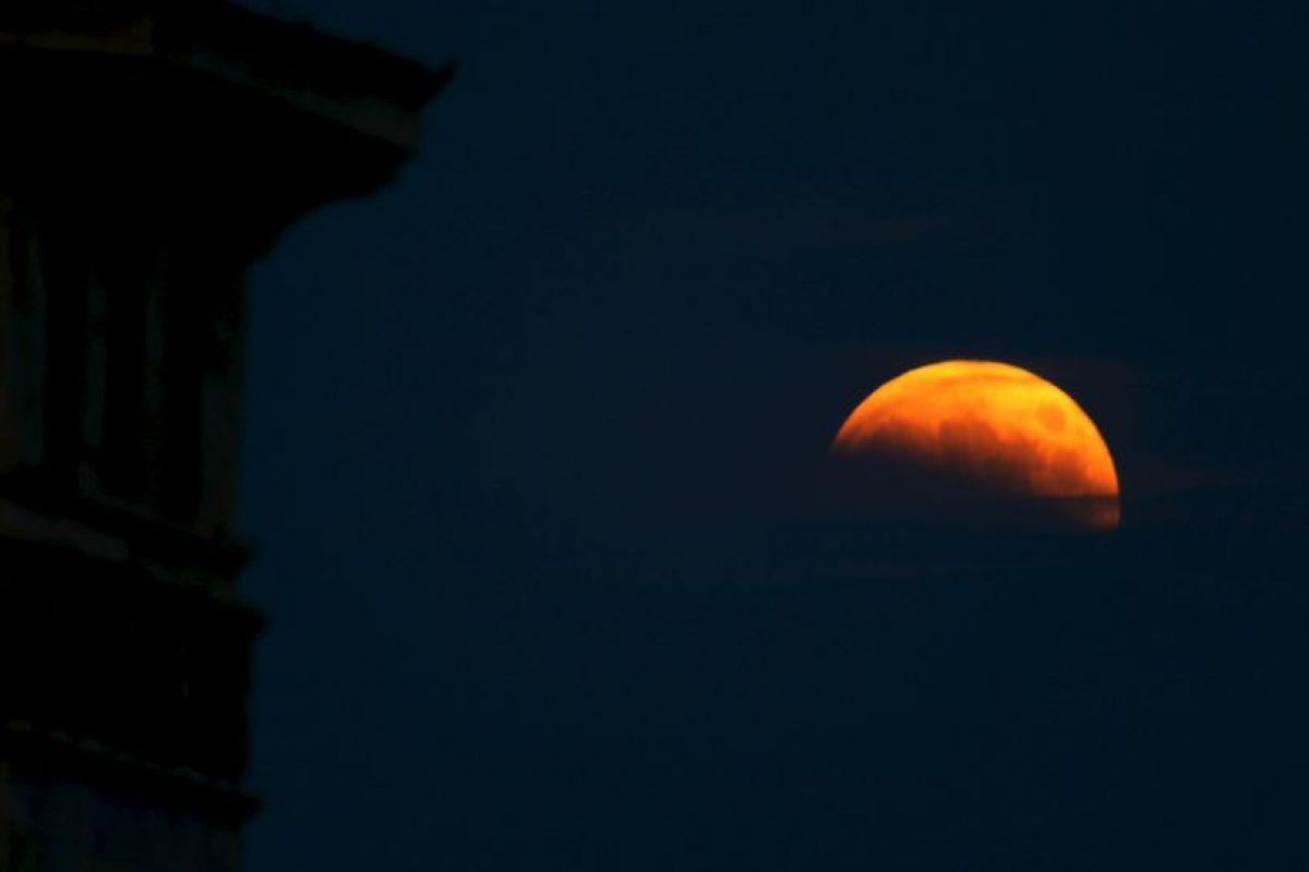 """Como mencionamos antes, las """"lunas de sangre"""" son sencillamente eclipses lunares. Foto:Getty Images. Imagen Por:"""