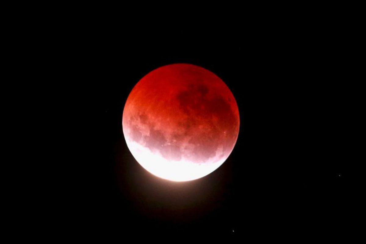 """La explicación científica de las """"lunas de sangre"""": Foto:Getty Images. Imagen Por:"""