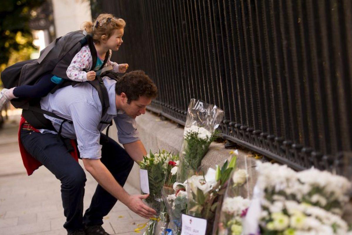 ESPAÑA: Ofrenda en Madrid. Foto:Getty Images. Imagen Por: