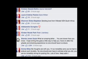 Ahora la gente le ha escrito apoyándola. Foto:vía Facebook/Isobel Bowdery. Imagen Por: