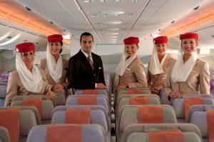 La compañía agregó 130 asientos luego de eliminar su primera clase. Foto:Vía facebook.com/Emirates. Imagen Por: