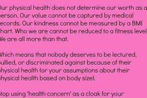 Y que la gente sigue con sus prejuicios, pero a una mujer no se le debería medir por el peso. Foto:vía Instagram/megancrabbe. Imagen Por: