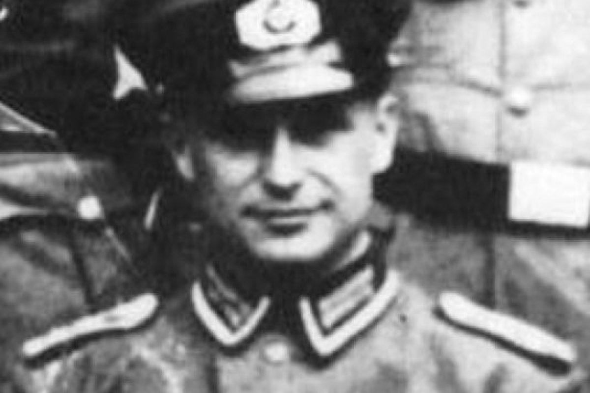 Klaus Barbie fue uno de los más famosos criminales nazis Foto:vía Wikipedia. Imagen Por: