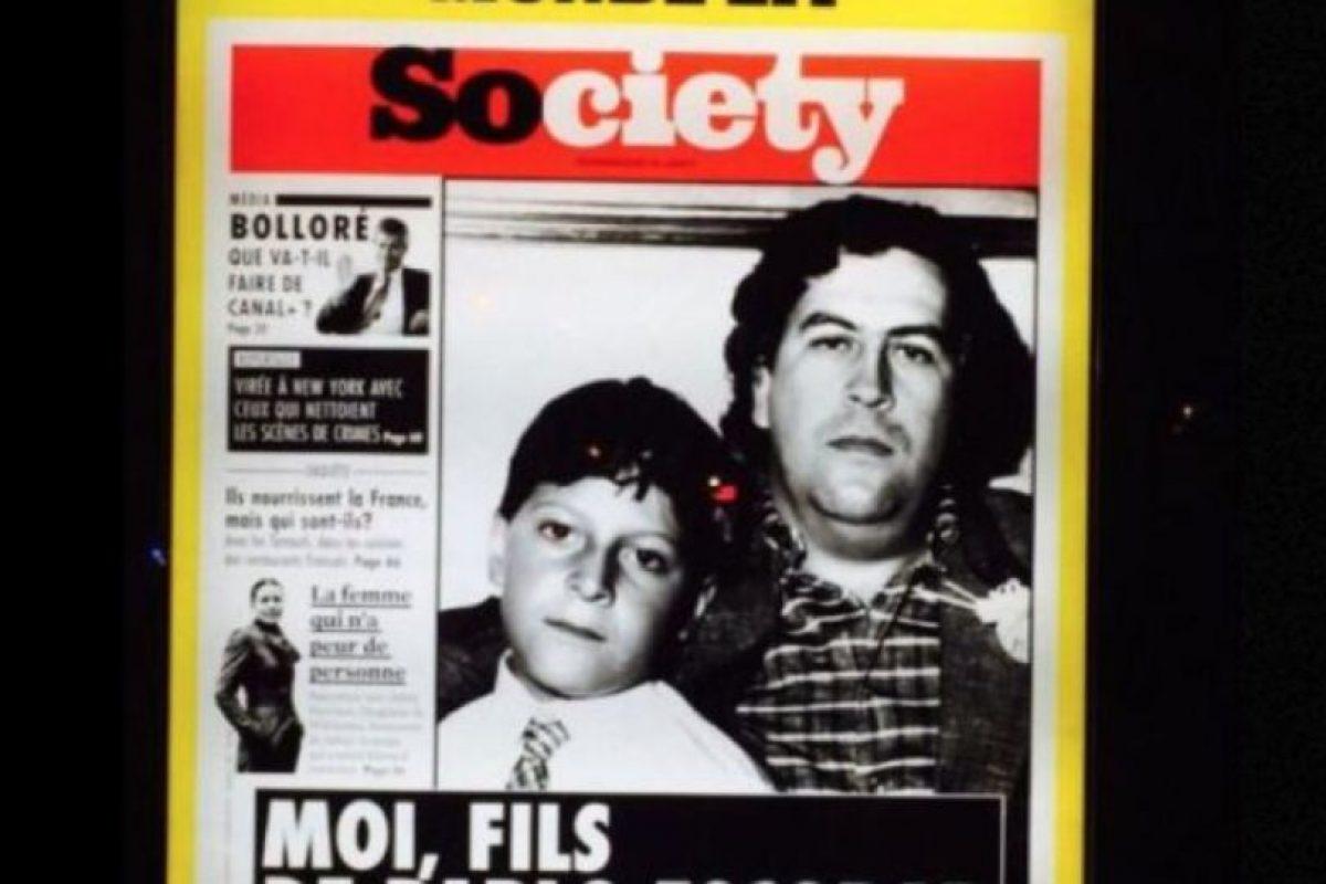 Y por si fuera poco, se alió con Pablo Escobar en el tráfico de drogas. Incluso llegó a conocerlo. Foto:vía Facebook/Juan Sebastián Marroquín. Imagen Por: