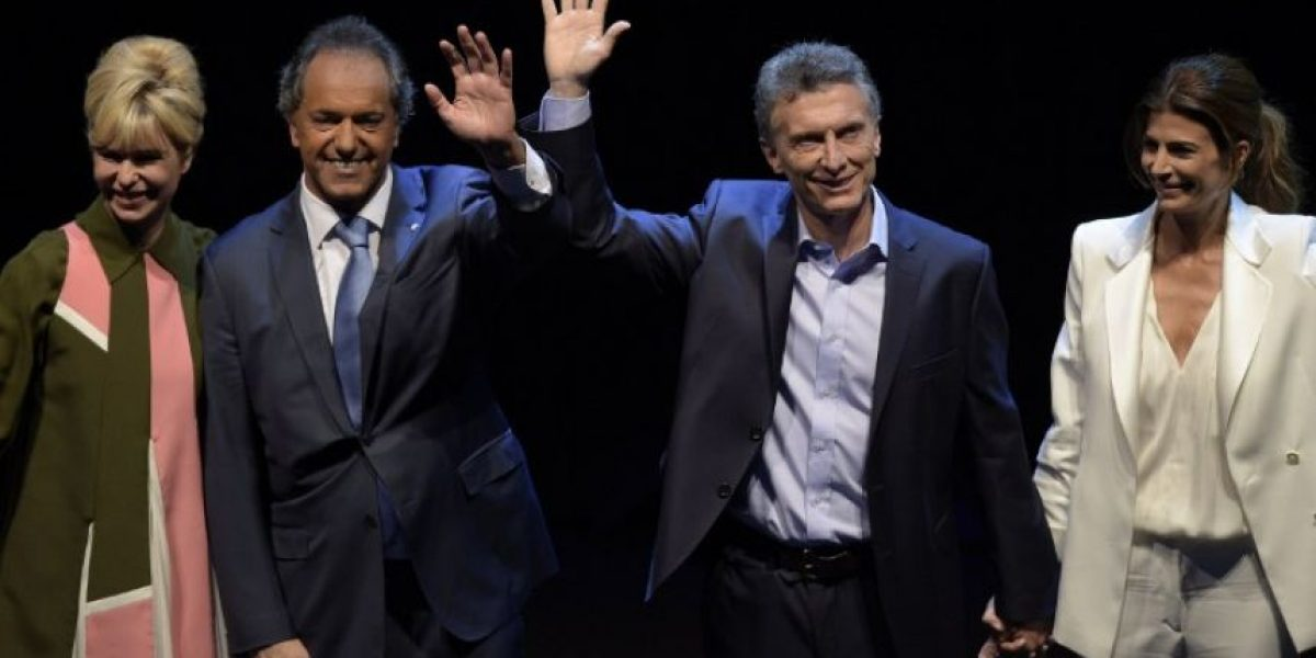 Argentina expectante espera debate vivido como gran final electoral