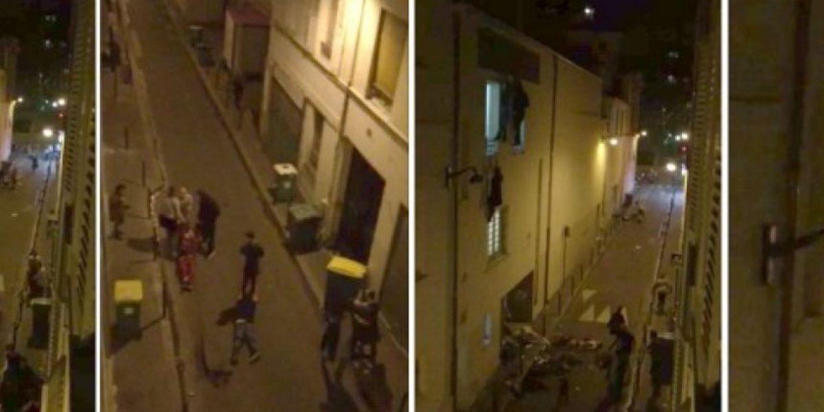 Mujer embarazada que colgaba de ventana encuentra al héroe que la rescató en París
