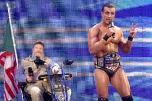 Actualmente es el monarca de Estados Unidos de la WWE Foto:WWE. Imagen Por: