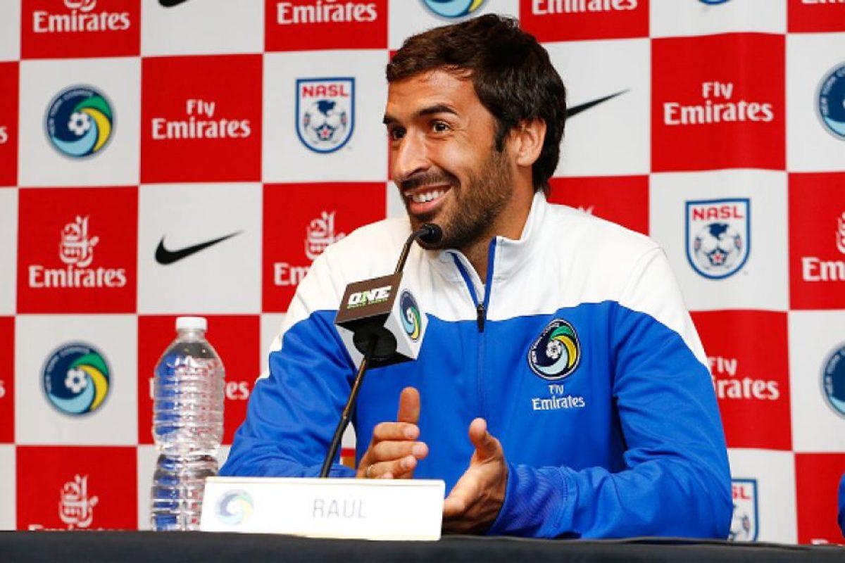11. Raúl González Foto:Getty Images. Imagen Por: