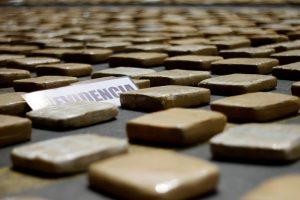 La droga incautada. Foto:ATON Chile. Imagen Por: