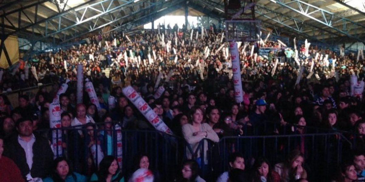 Coyhaique: más de tres mil personas vibraron en el cierre de la Gira Teletón