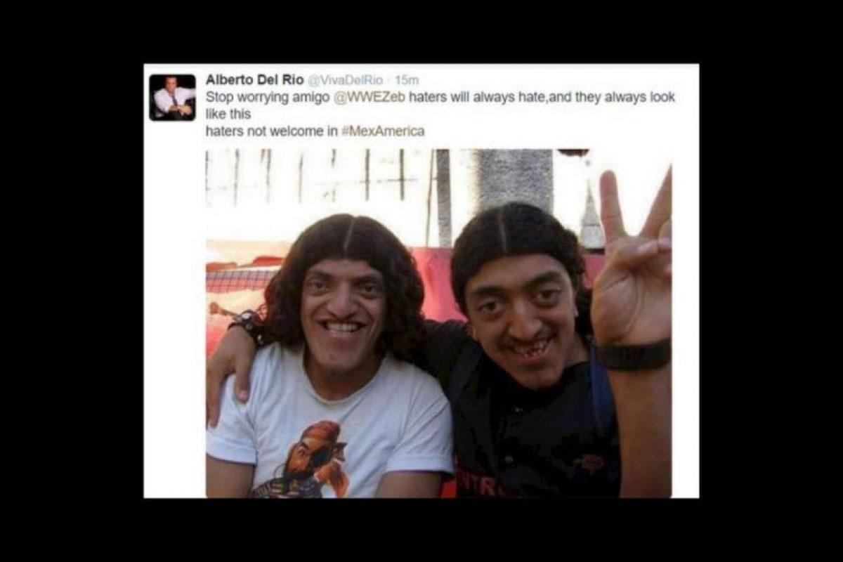 Pero Del Río posteó esta imagen, lo que ocasionó indignación en los internautas Foto:Twitter. Imagen Por:
