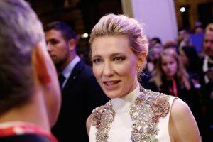 """Además de esta producción que combina el teatro con el cine, Blanchett es la estrella de la nueva cinta """"Carol"""". Foto:Getty Images. Imagen Por:"""
