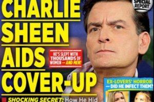 El periódico The National Enquirer indicó que, luego de 18 meses de investigación, el actor había confirmado su diagnóstico de VIH. Foto:The National Enquirer. Imagen Por: