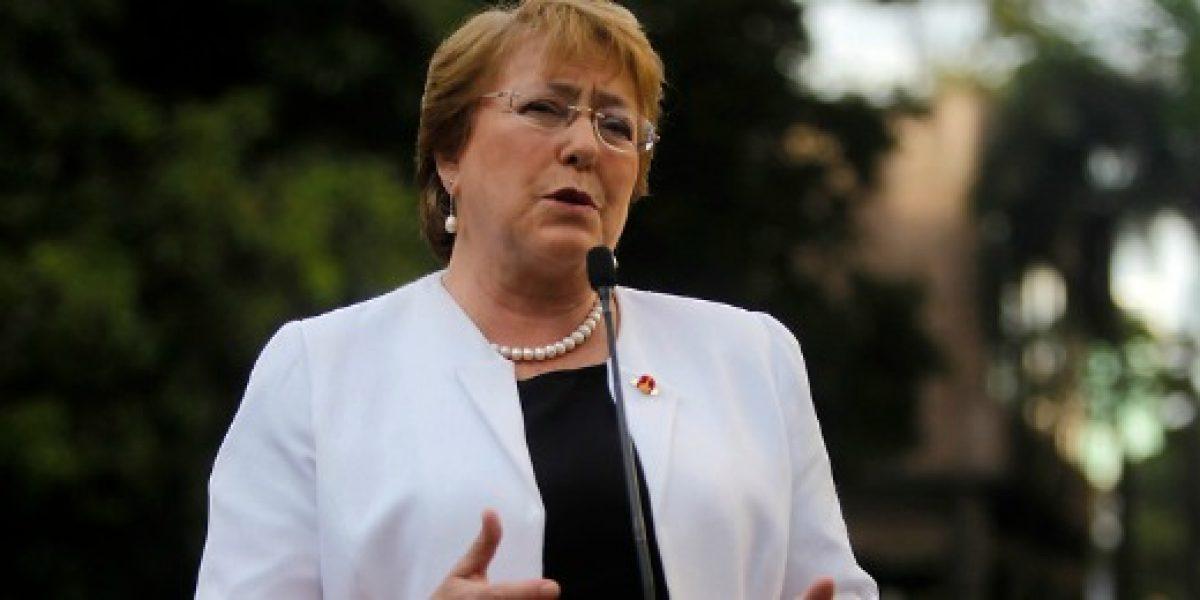 Presidenta Bachelet defendió polémico acuerdo TPP en vísperas de cumbre Apec