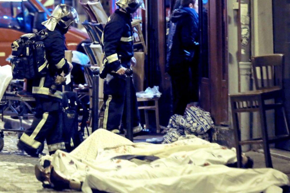 """3. """"No destruirán a la República. La República destruirá al terrorismo"""", agregó. Foto:AP. Imagen Por:"""