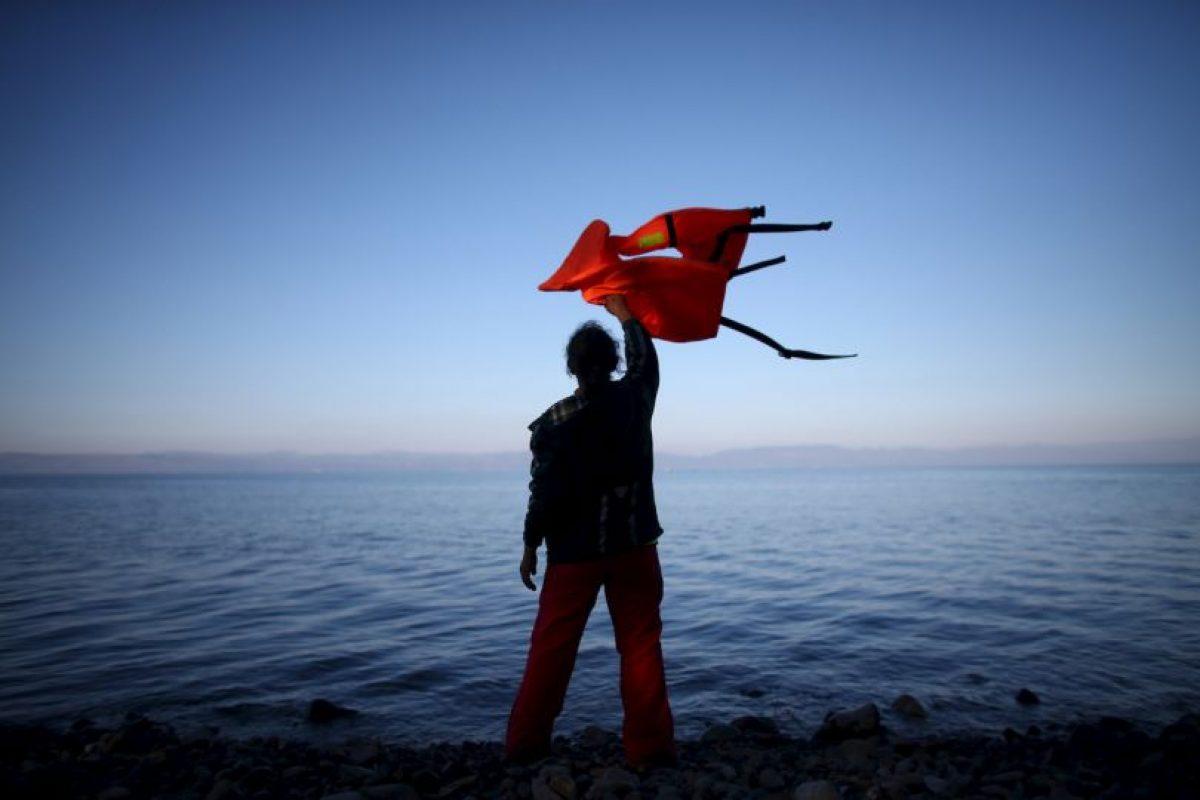 1. Se estima que solo este año han llegado cuatro millones de migrantes y refugiados a Europa. Foto:Getty Images. Imagen Por: