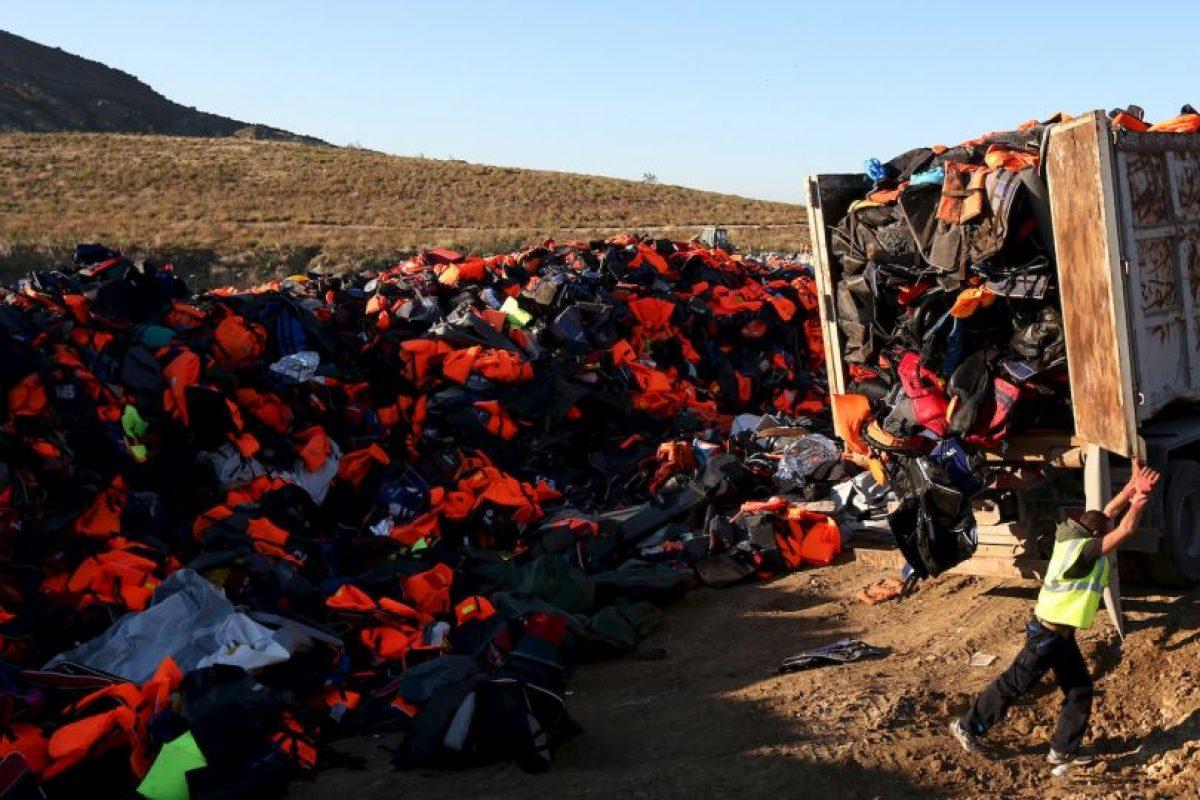 4. La cifra de migrantes y refugiados muertos este año, incluyendo a los que perecieron en el Mediterráneo es de cuatro mil 849 personas. Foto:Getty Images. Imagen Por: