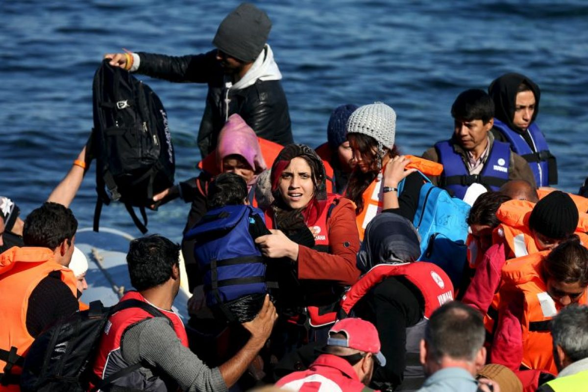 3. La OIM ha estimado que 800 mil personas han llegado a Europa este año por mar. Foto:Getty Images. Imagen Por:
