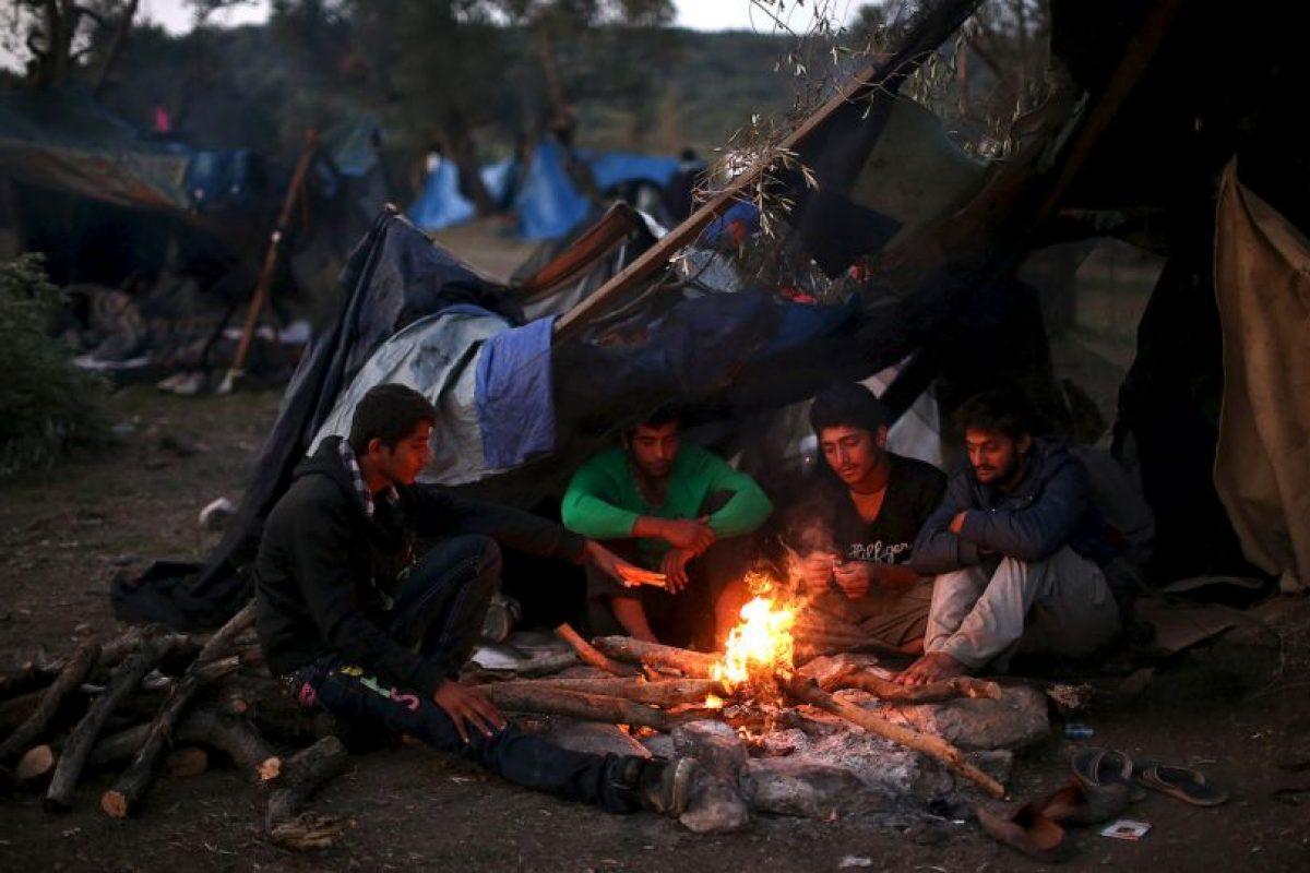 7. La mayoría de los refugiados son sirios que huyen de la guerra en su país. Foto:Getty Images. Imagen Por:
