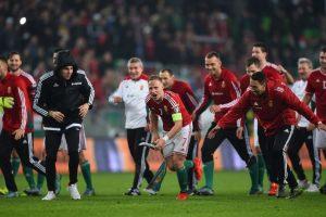 La Selección de Hungría Foto:Getty Images. Imagen Por: