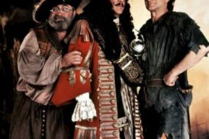 """""""Hook"""" fue una controvertida película que contaba la continuación de la historia de Peter Pan. Foto:vía Amblin. Imagen Por:"""