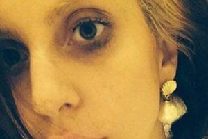 Lady Gaga, con el maquillaje hecho pedazos. Foto:vía Instagram. Imagen Por: