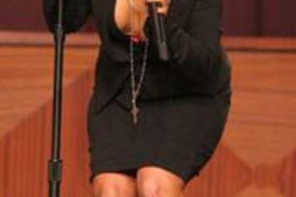 Christina Aguilera, en un momento vergonzoso. Foto:vía Tumblr. Imagen Por:
