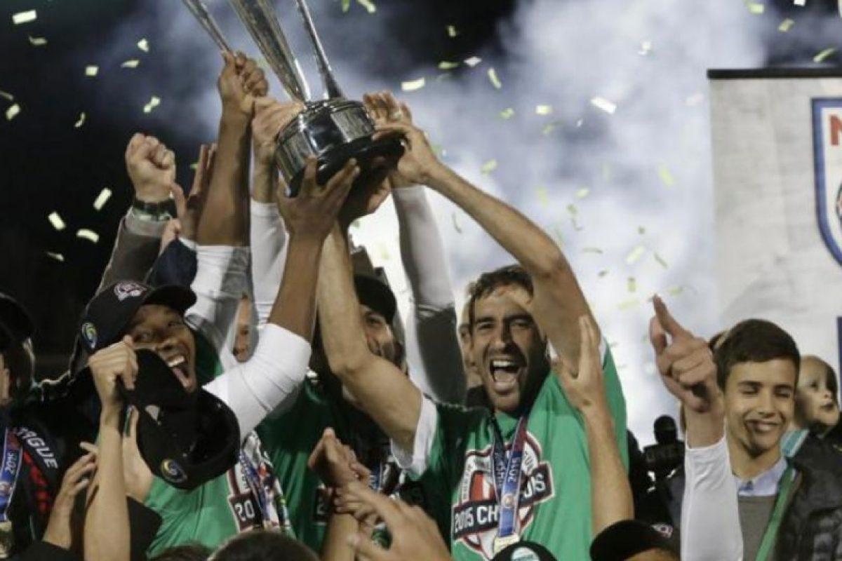Se despidió con el Campeonato de la Liga Norteamericana de Fútbol Foto:Getty Images. Imagen Por: