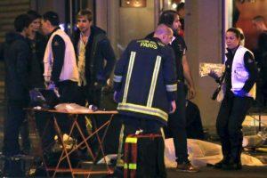 """Al menos 100 personas fallecieron en la sala de conciertos """"Bataclán"""". Foto:AP. Imagen Por:"""
