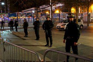 La policía resguardó las calles. Foto:AP. Imagen Por: