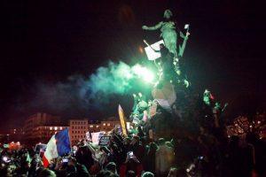 Esto desató una serie de protestas en Francia y el mundo en pro de la libertad de expresión Foto:AFP. Imagen Por: